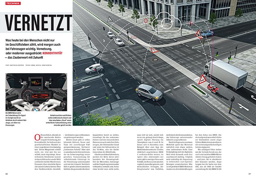 Zukunft der Kommunikation zwischen Fahrzeugen