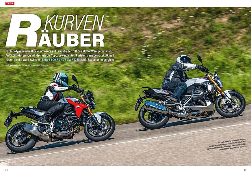 Zweizylinder im Vergleich: BMW R 1250 R gegen F 900 R