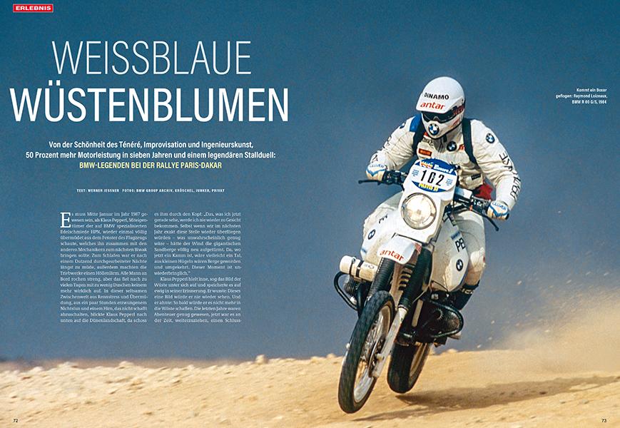 BMW bei der Rallye Dakar: Rückblick auf turbulente und erfolgreiche Zeiten in der Wüste