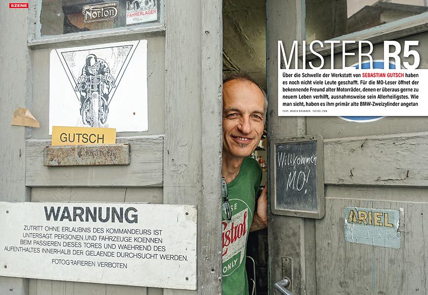 Sebastian Gutsch hat sich auf die rare R5 spezialisiert