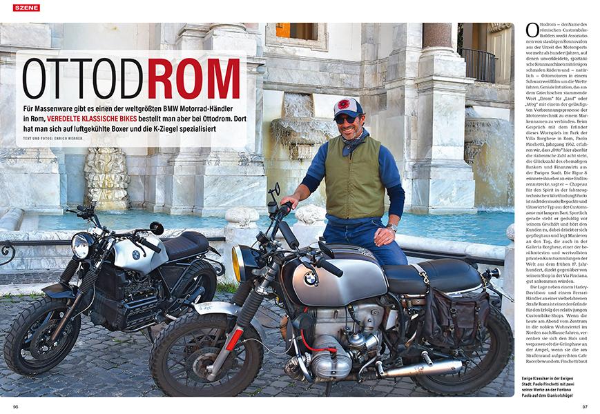 Ottodrom in Rom: Spezialist für Zweiventiler und K-Modelle
