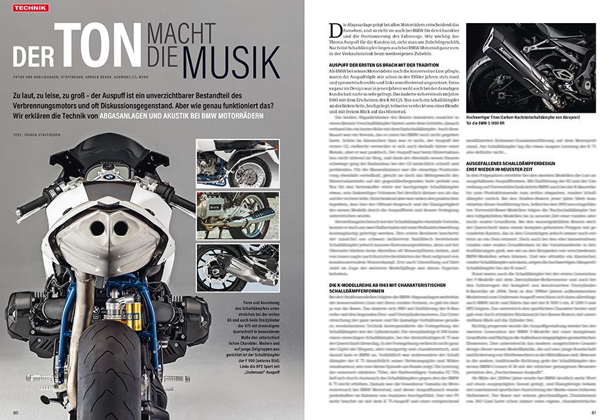 Technik erklärt: Akustik bei BMW-Auspuffanlagen