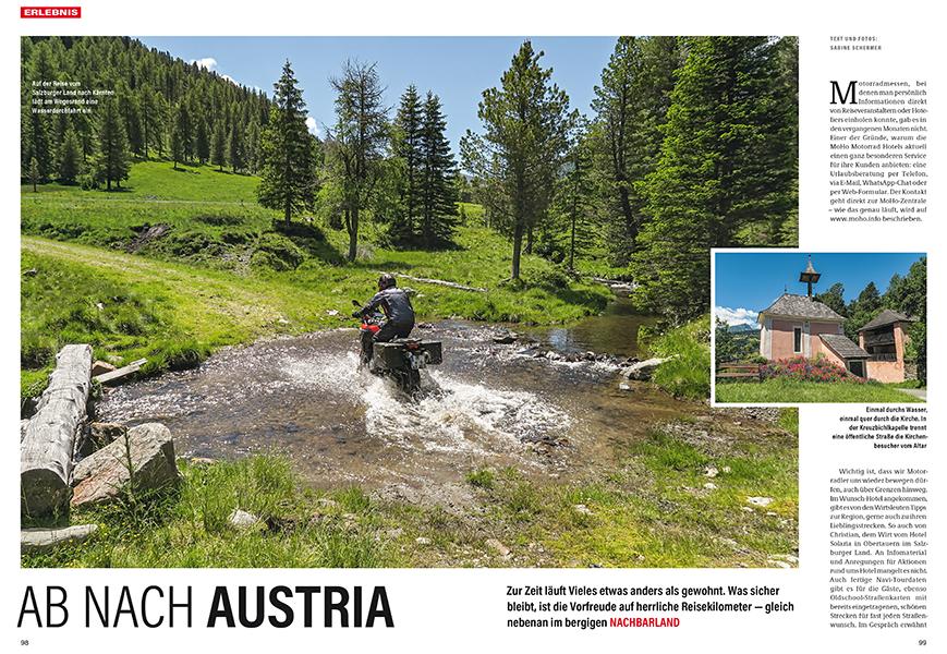 Das Schöne liegt so nah: Reise nach Österreich