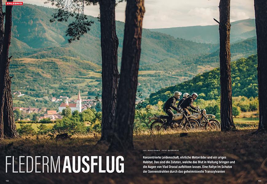 Erlebnisreiche Bat-Schotter-Rallye im rumänischen Transsylvanien