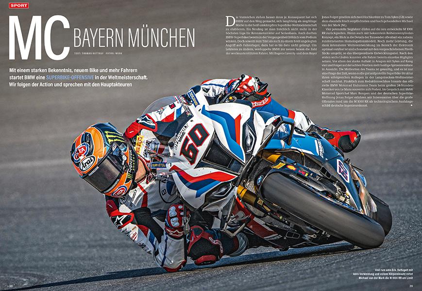 BMW will den Titel in der Superbike-WM und rüstet massiv auf